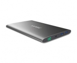 Vinsic Ultra Slim Dual Power Bank 15000mAh Black (EU Blister)